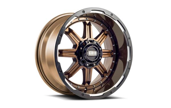 GRID GD10 Bronze/Schwarz/Glanz