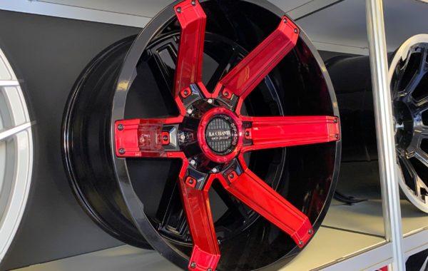 LC-OF16 Red 12×20 5×127 / 5×139.7 / 6×135 / 6×139.7  ET -44 Preis pro Stück: 775,00€
