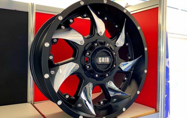 GD1 Black / Chrome 9×20 5×127 / 5×139.7 / 6×135 / 6×139.7  ET 15 Preis pro Stück: 649,00€