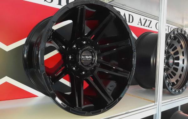 LC-OF19 black/gloss 12×20 5×127 / 5×139.7 / 6×135 / 6×139.7  ET -25 Preis pro Stück: 749,00€