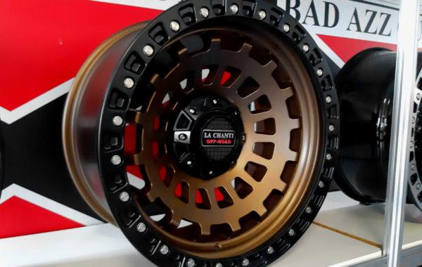LC-OF6 bronze/black 12×20 5×127 / 5×139.7 / 6×139.7 / 6×135  ET -25 Preis pro Stück: 699,00€